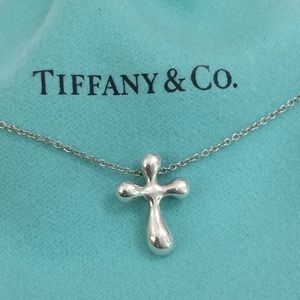 Tiffany & Co Elsa Peretti Cross necklace